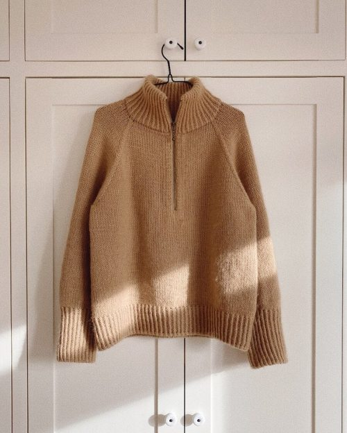 Zipper Sweater Strikkekit