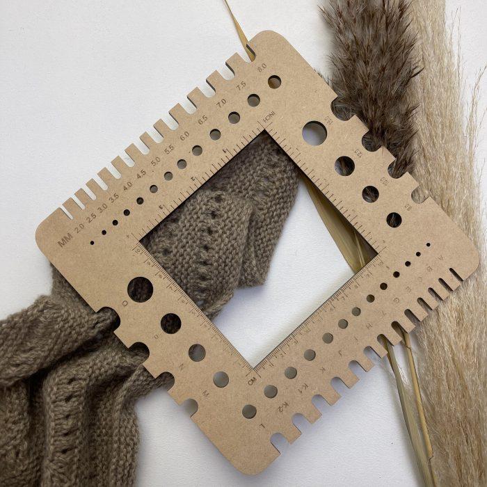 strikkefastheds måler