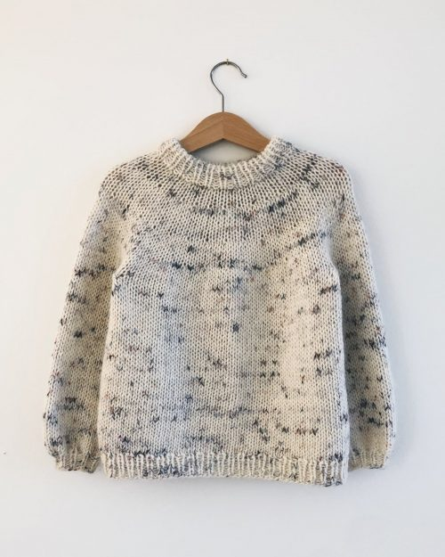 Novice Sweater Junior Strikkekit