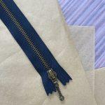Lynlås til Zipper Sweater / Zipper Slipover - Navy