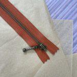 Lynlås til Zipper Sweater / Zipper Slipover - Terrakotta