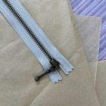 Lynlås til Zipper Sweater / Zipper Slipover - Duegrå