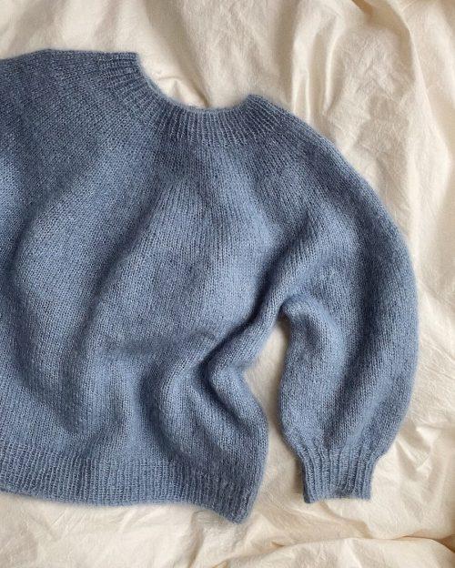 Novice Sweater - Mohair Edition Strikkekit