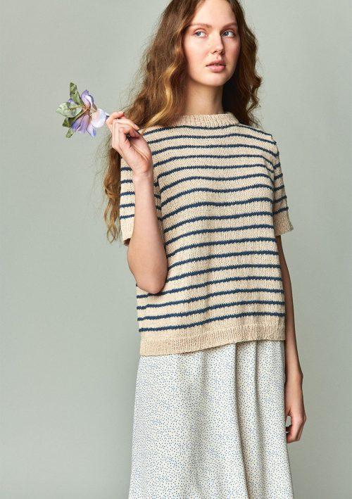 Marian T-skjorte Strikkekit